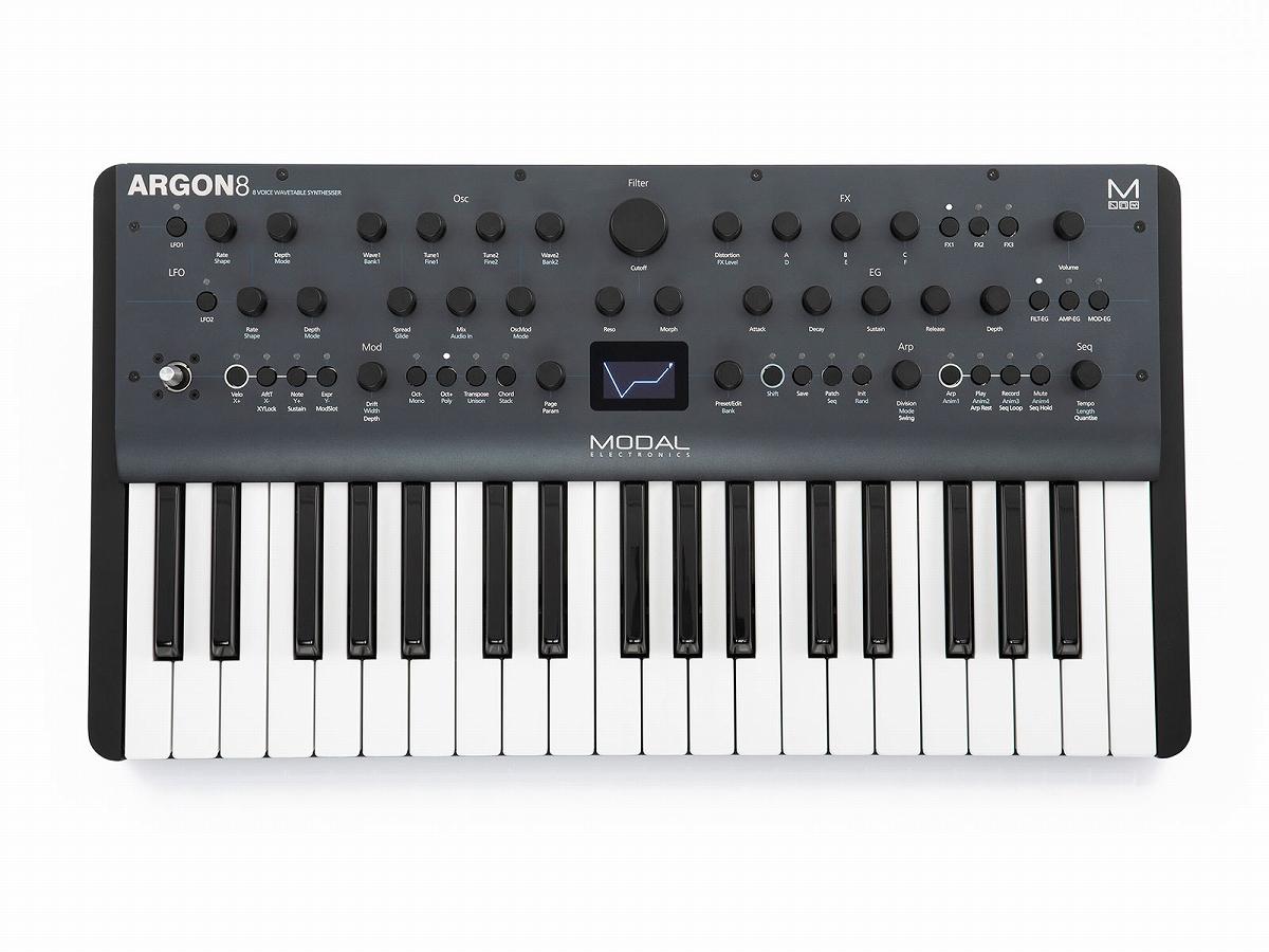 【在庫あり】MODAL / Argon 8 8ボイス・ポリフォニック・ウェーブテーブル・シンセサイザー【PNG】