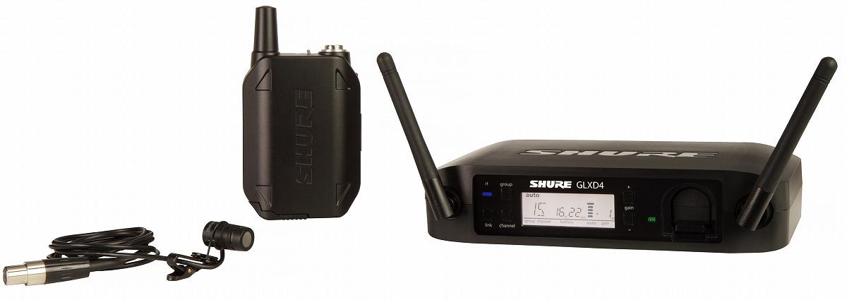 Shure シュアー / GLXD14/WL185 プレゼンター用デジタルワイヤレスシステム【お取り寄せ商品】