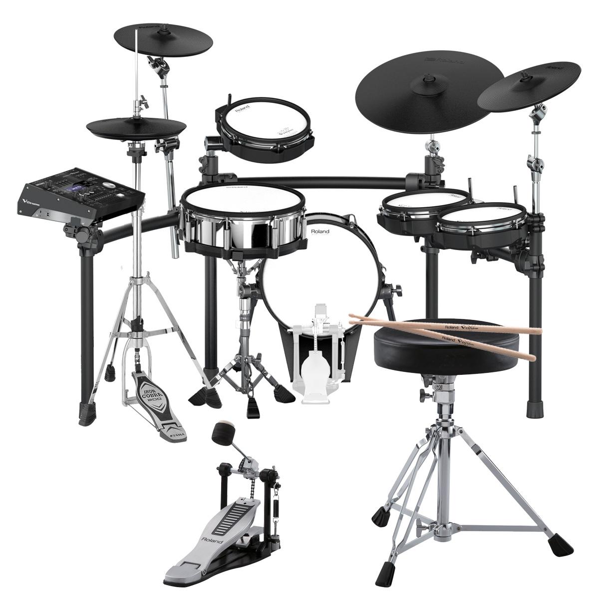 Roland Drum System TD-50K カスタム VH-13ハイハット KD-140-BC MDS-50K セット【TD-50ハードウェアプレゼントキャンペーン対象品商品】【YRK】