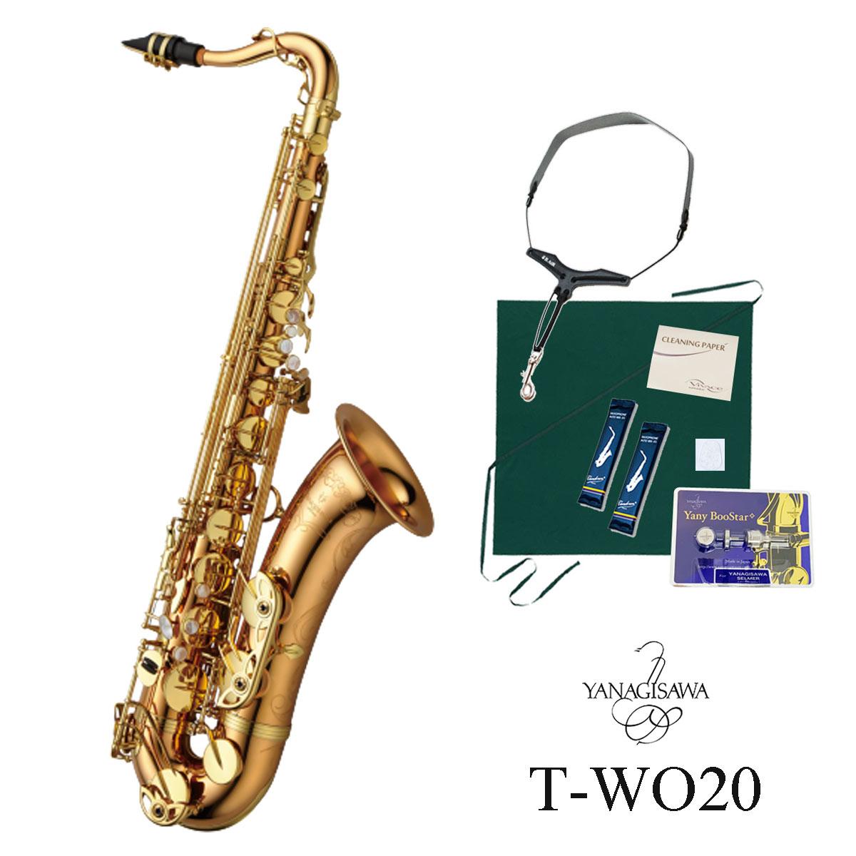 Yanagisawa / T-WO20 ヤナギサワ テナーサックス ダブルオーシリーズ ブロンズブラス ラッカー仕上 《オリジナルセット》【5年保証】