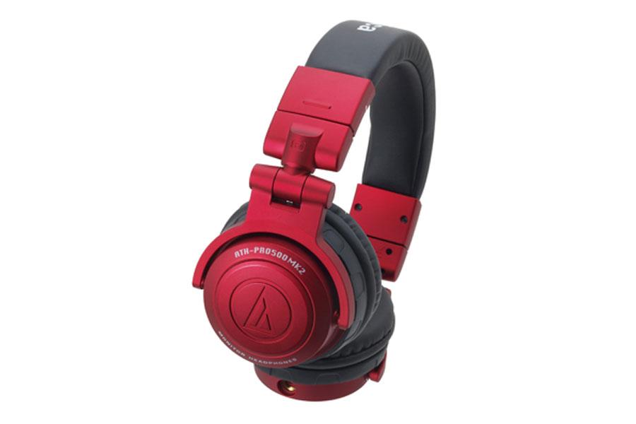 audio-technica オーディオテクニカ / ATH-PRO500MK2 RD(レッド) DJヘッドホン【お取り寄せ商品】