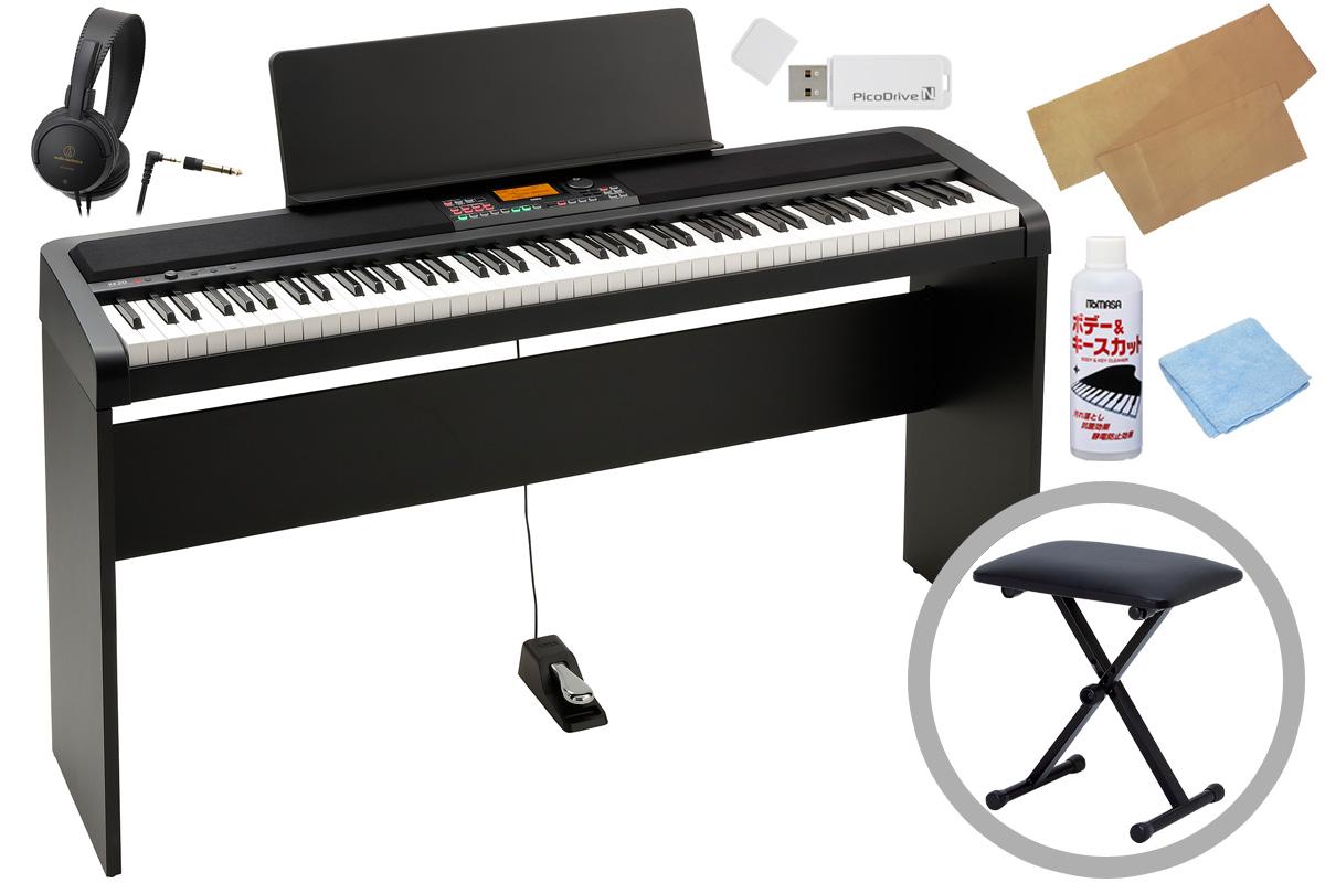 【タイムセール:31日12時まで】KORG コルグ / XE20【専用スタンド&ベンチセット!】《キーカバー&お手入れセットプレゼント!》デジタル・アンサンブル・ピアノ【PNG】