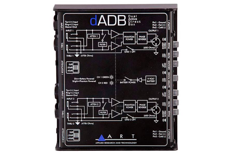 ART エーアールティー / dADB デュアル・アクティブDIボックス【お取り寄せ商品】