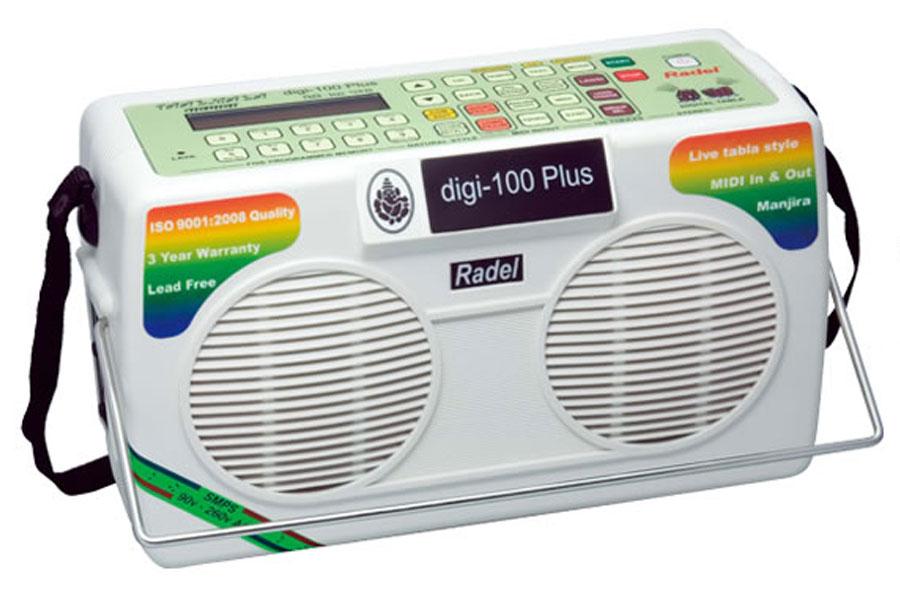 Radel ラデル / Taalmala digi-100 Plus (MIDI対応デジタル・タブラ)【お取り寄せ商品】