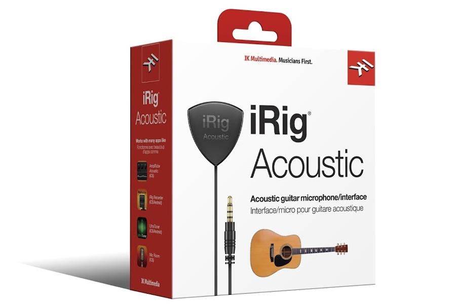 IK MULTIMEDIA アイケーマルチメディア / iRig Acoustic アコースティック・ギター / ウクレレ専用モバイル・マイク / インターフェース