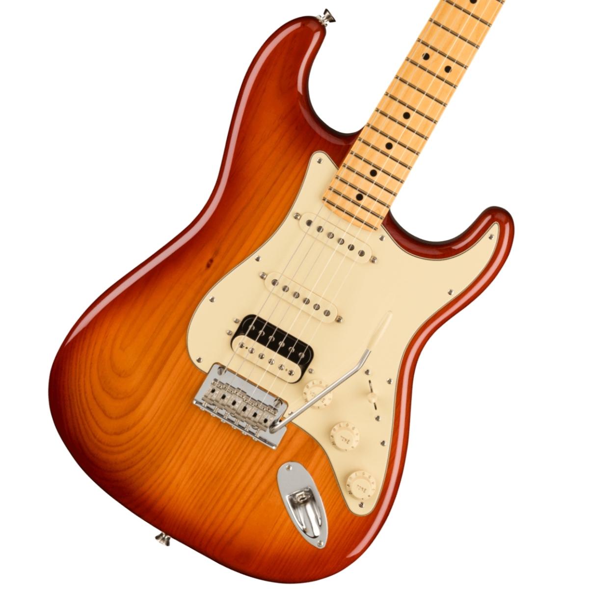 【保障できる】 Fender/ American Professional II Stratocaster HSS Maple Fingerboard Sienna Sunburst フェンダー《純正ケーブル&ピック1ダースプレゼント!/+2306619444005》【YRK】《予約注文/納期別途ご案内》, ロッソエブルー 4c285db2