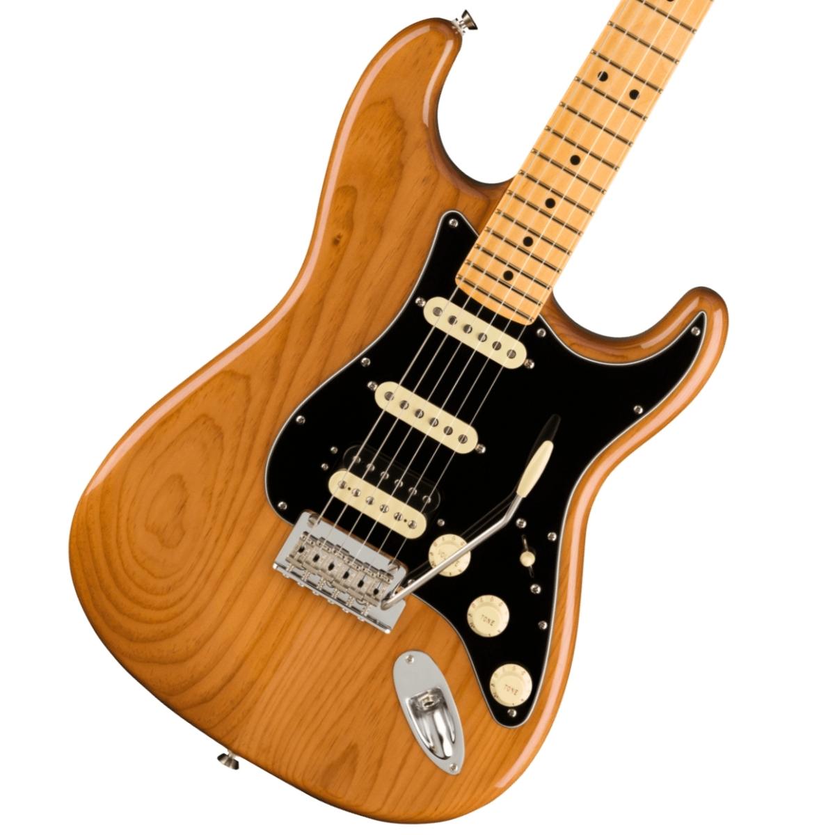 【別倉庫からの配送】 Fender/ American Professional II Stratocaster HSS Maple Fingerboard Roasted Pine フェンダー《純正ケーブル&ピック1ダースプレゼント!/+2306619444005》【YRK】《予約注文/納期別途ご案内》, Bたんママ大好き定番! 54747a7d