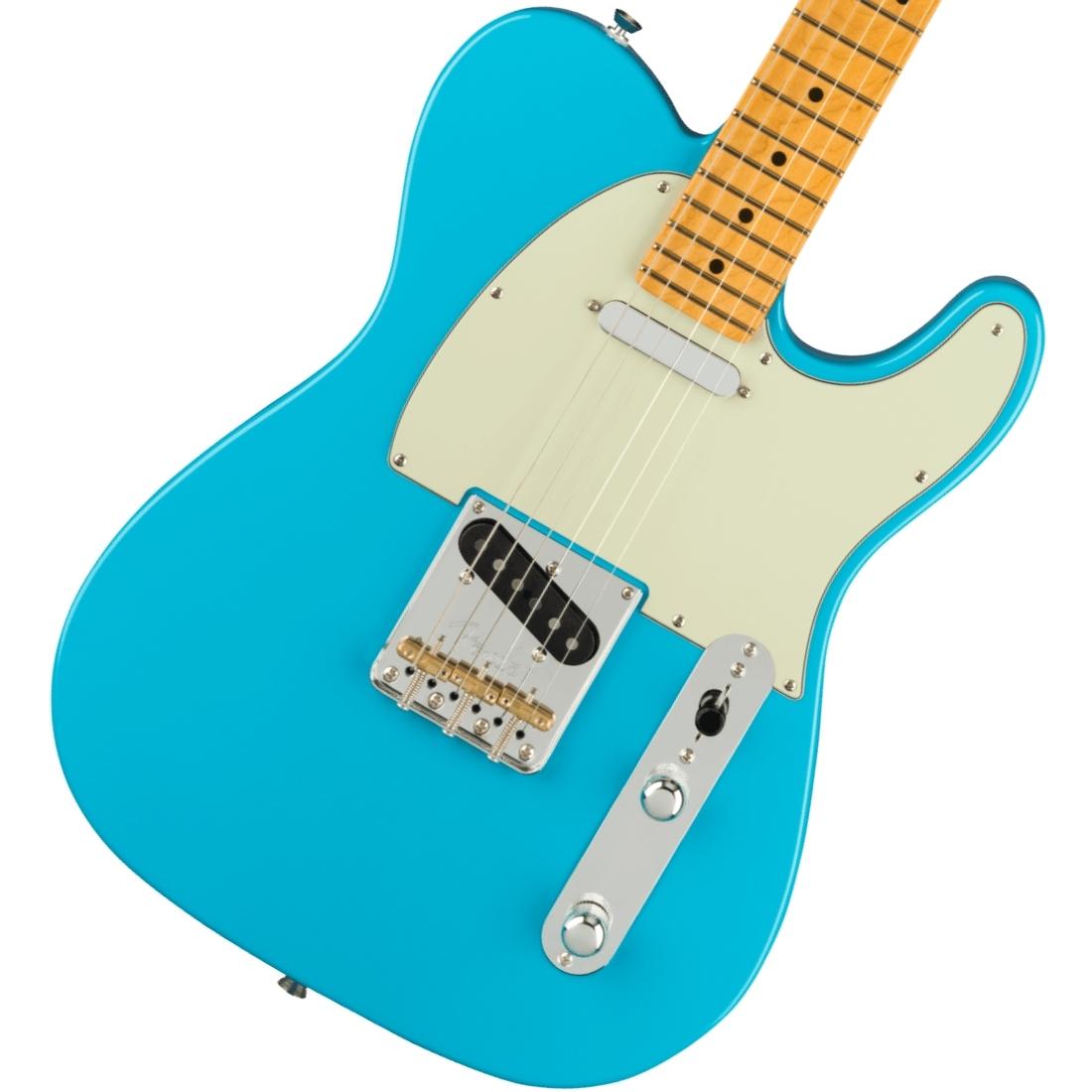 Fender/ American Professional II Telecaster Maple Fingerboard Miami Blue フェンダー【新品特価】《純正ケーブル&ピック1ダースプレゼント!/+2306619444005》【YRK】《純正ギグケースプレゼント!/+0885978806249》