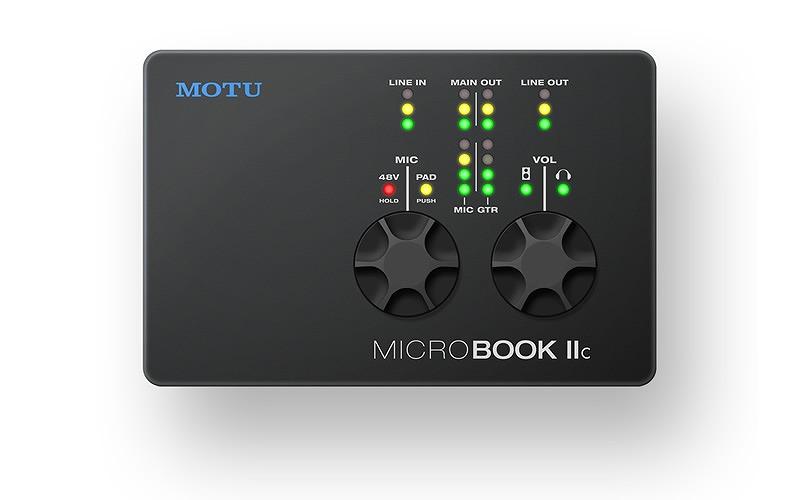 MOTU モツ / MicrobookIIc USBオーディオインターフェース