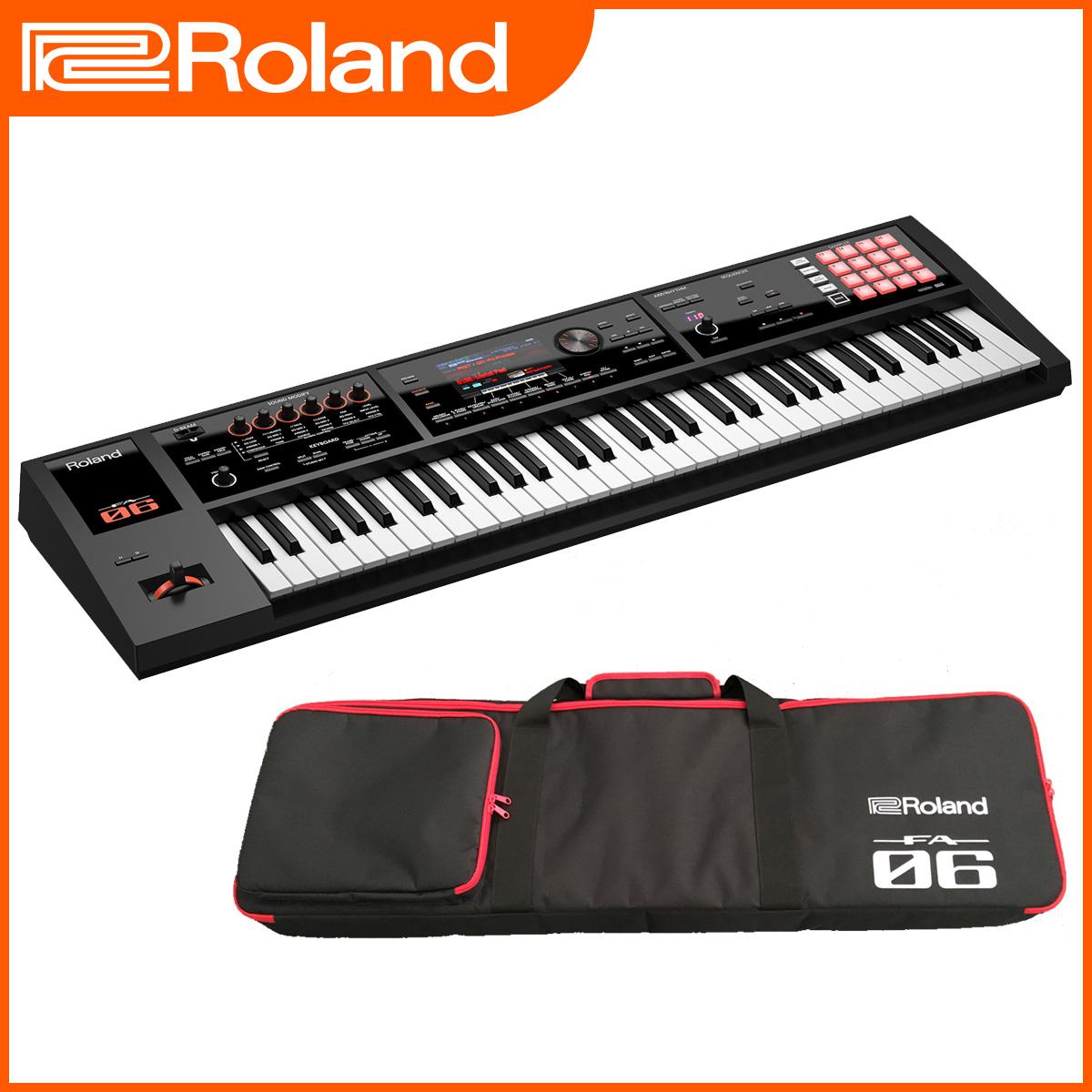 【在庫あり】Roland ローランド / FA-06 シンセサイザー(FA06) 《背負えるケース・特典付き:79395》【YRK】