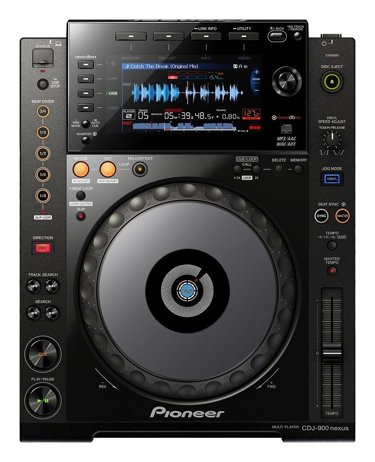 Pioneer パイオニア / CDJ-900NXS 【お取り寄せ商品】【PNG】