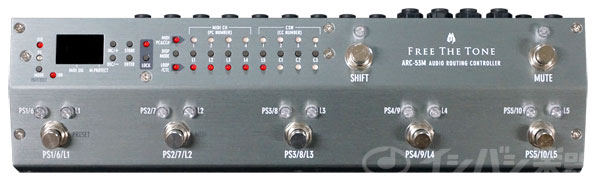 Free The Tone フリーザトーン / ARC-53M Silver Audio Routing Controller【プロミュージシャンが認める脅威のサウンドクオリティーを実現!】
