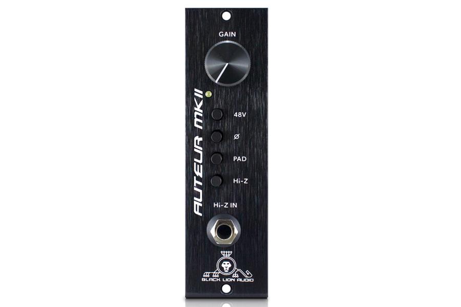 Black Lion Audio ブラックライオンオーディオ / Auteur MkII 500 api Lunch Box 500互換マイクプリアンプ【お取り寄せ商品】