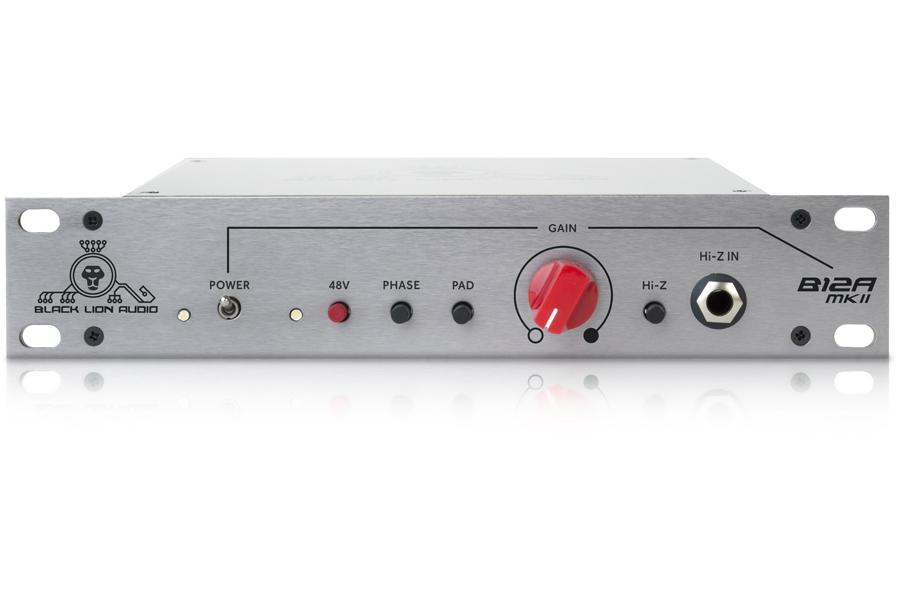 Black Lion Audio ブラックライオンオーディオ / B12A MkII シングル・チャンネル・マイクプリアンプ【お取り寄せ商品】