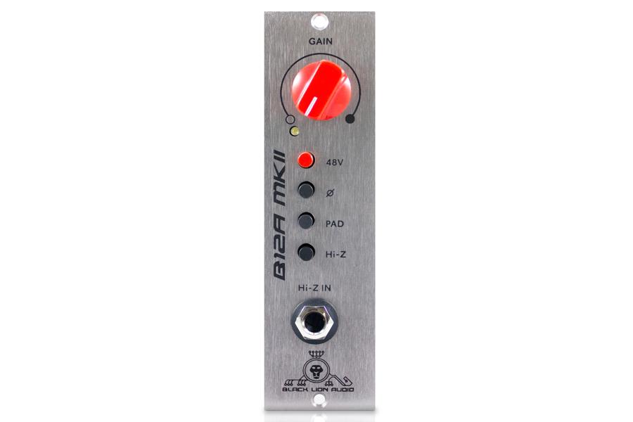 Black Lion Audio ブラックライオンオーディオ / B12A MkII 500 シングル・チャンネルapi Lunch Box 500 互換プリアンプ【お取り寄せ商品】