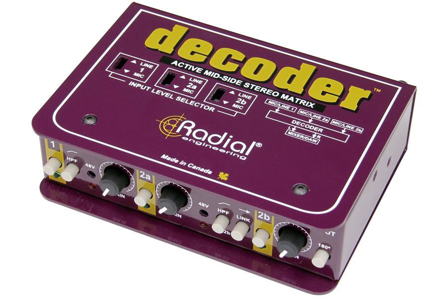 Radial ラディアル(ラジアル) / Decoder M/S方式デコーダー&マイク・プリアンプ【お取り寄せ商品】