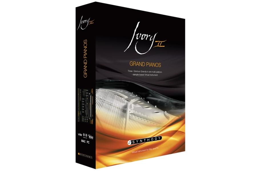 SYNTHOGY / Ivory II Grand Pianos グランド・ピアノズ Ivory IIエンジン採用のピアノ専門音源【お取り寄せ商品】