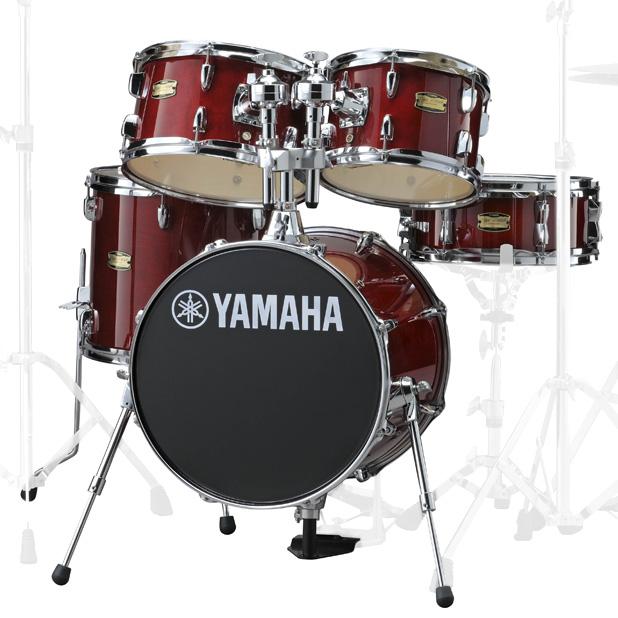 YAMAHA JK6F5CR ヤマハ 16BD コンパクトドラムシェルパック ジュニアキット CRクランベリーレッド【YRK】