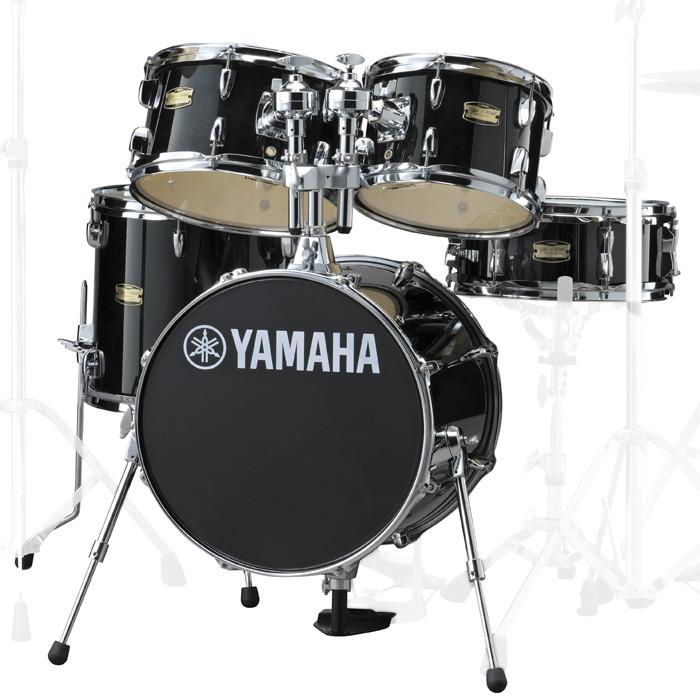 YAMAHA JK6F5RB ヤマハ 16BD コンパクトドラムシェルパック ジュニアキット RBレーベンブラック【YRK】