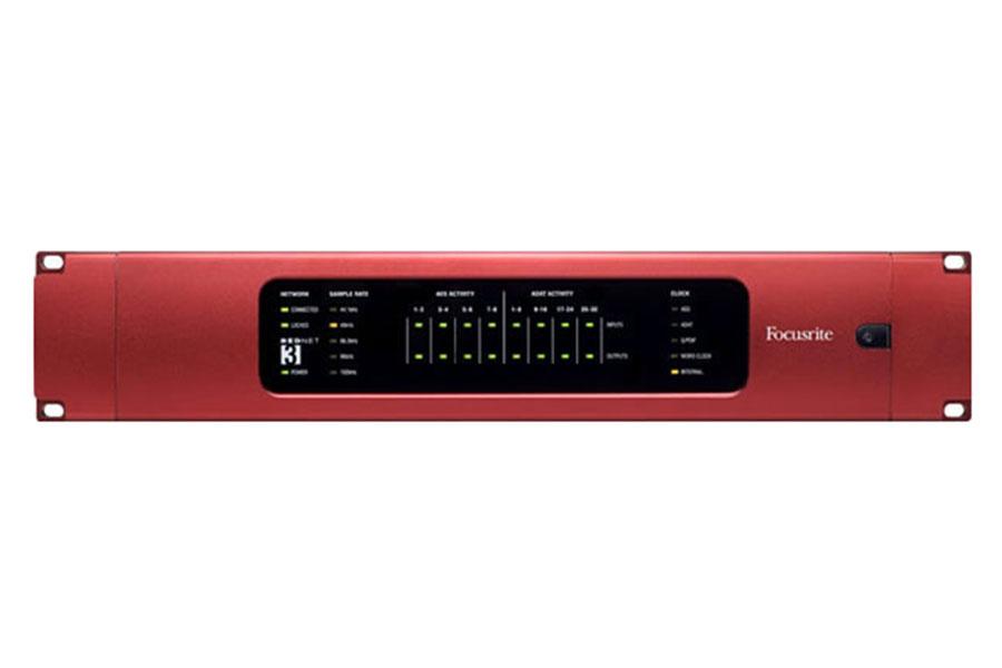 Focusrite フォーカスライト / RedNet 3 (32ch ADAT AES/EBU デジタルインターフェイス)【お取り寄せ商品】
