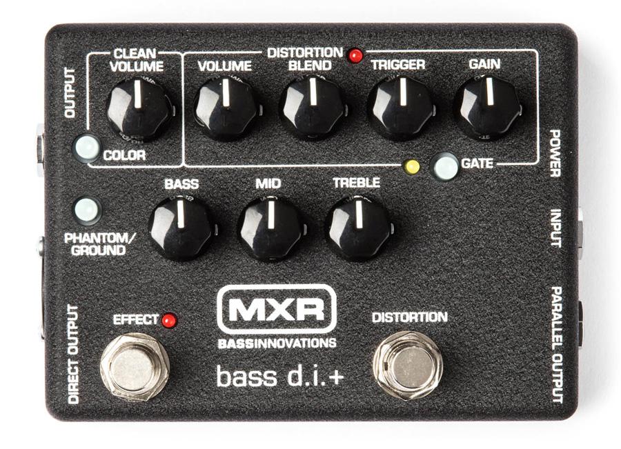 【タイムセール:16日12時まで】MXR / M-80 BASS D.I.+ M80[ベース用プリアンプ/ディストーション] エムエックスアール【国内正規品】【WEBSHOP】