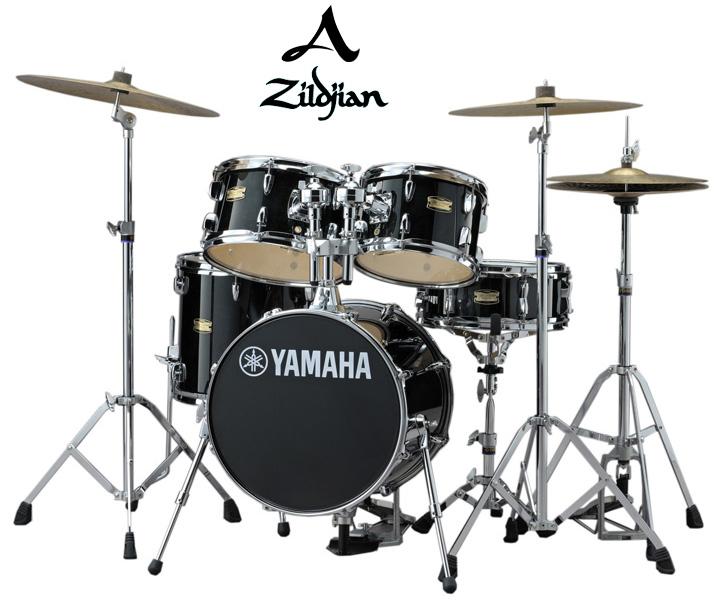 Ishibashi Yamaha Jk6f5rb Yamaha Jr Kit A Zildjian Cymbals Lump Set