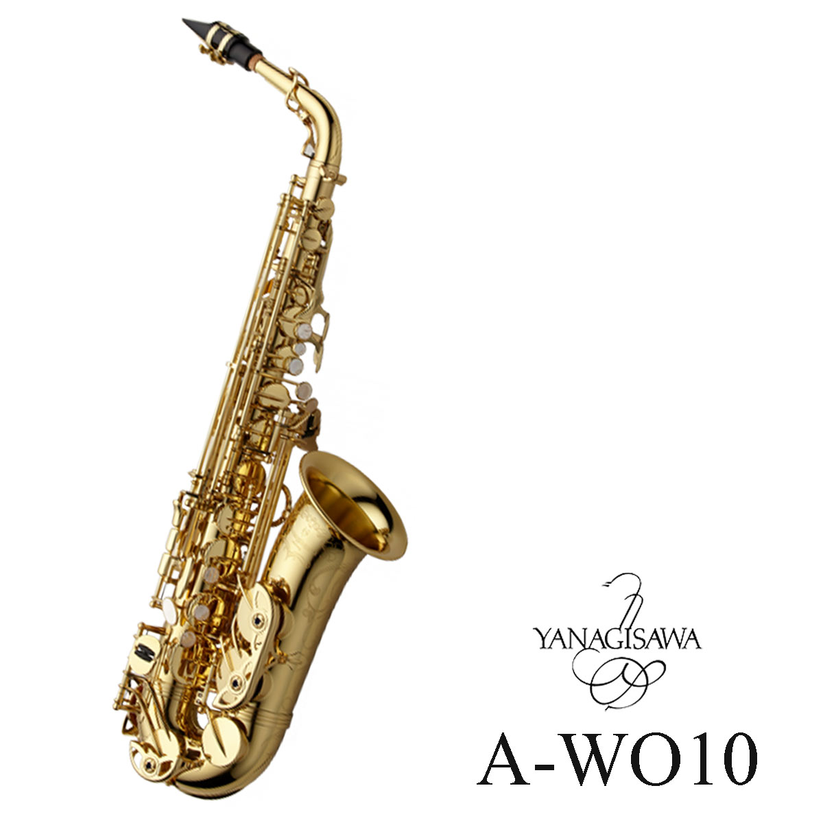Yanagisawa / A-WO10 ヤナギサワ アルトサックス ダブルオーシリーズイエローブラス ラッカー仕上 《予約受付中:納期ご相談ください》【5年保証】