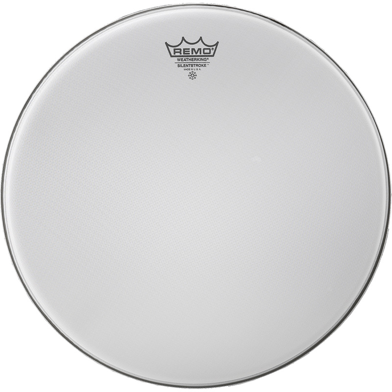 通常のドラムヘッドより静かに演奏できるメッシュヘッド REMO SN-0012 12インチ SILENT レモ 在庫一掃 サイレントストローク STROKE メッシュヘッド 新作 大人気