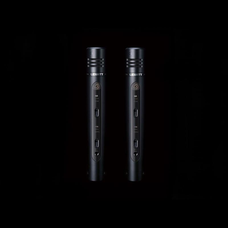"LEWITT ルウィット / LCT140 STEREO (2本セット) 2/3"" ペンシルスタイル・コンデンサーマイク【お取り寄せ商品】"