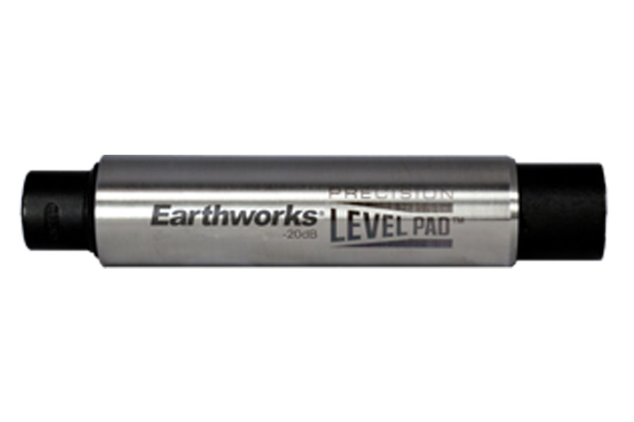 EARTHWORKS アースワークス / LP20 -20dBアッテネーターパッド【お取り寄せ商品】