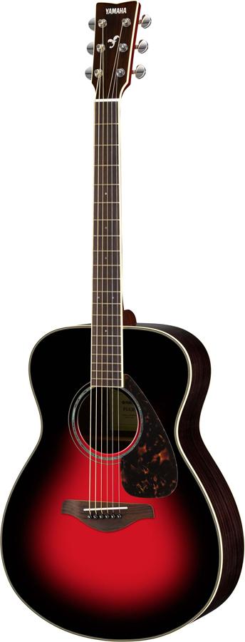 YAMAHA FS830 DSR (ダスクサンレッド) ヤマハ アコースティックギター アコギ FS-830 入門 初心者 《+811022800》
