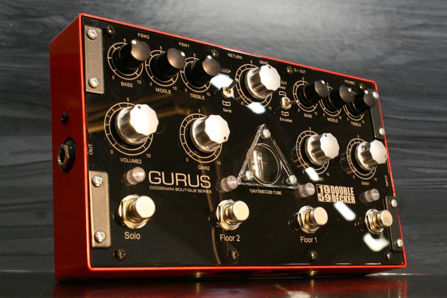 Gurus Amp / 1959 Double Decker 2チャンネル・プリアンプ・オーバードライブペダル【お取り寄せ商品】【国内正規品】