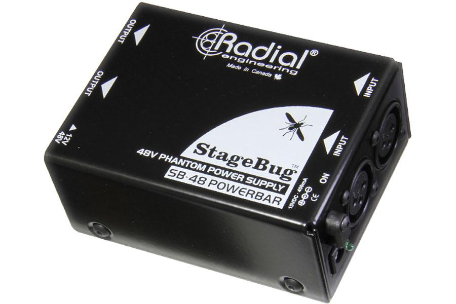 Radial ラディアル(ラジアル) / StageBug SB-48 2チャンネル・ファントム電源供給器【お取り寄せ商品】【WEBSHOP】