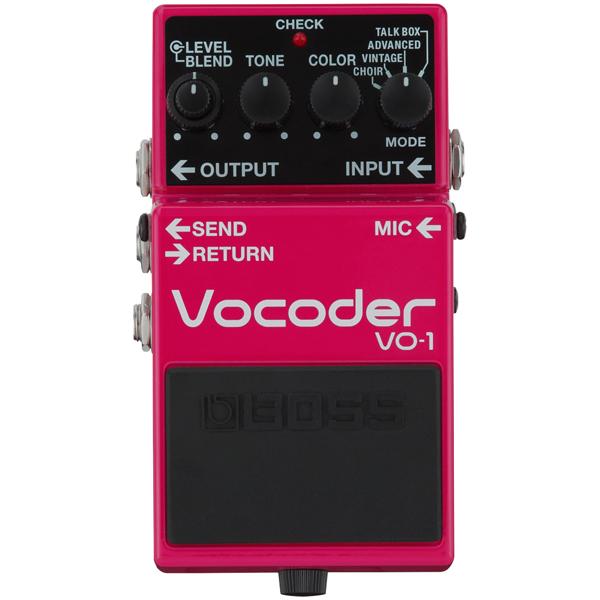 BOSS / VO-1 Vocoder ボコーダー【YRK】《9Vマンガン電池2個プレゼント!/+681215700×2》