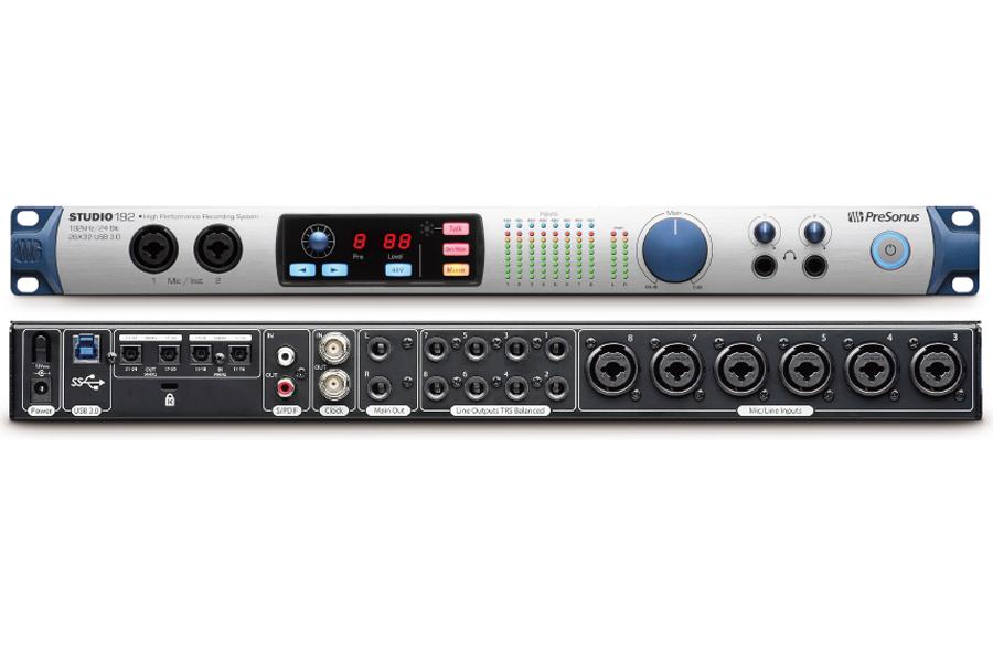 PreSonus プリソナス / Studio 192 USB 3.0 オーディオ・インターフェース