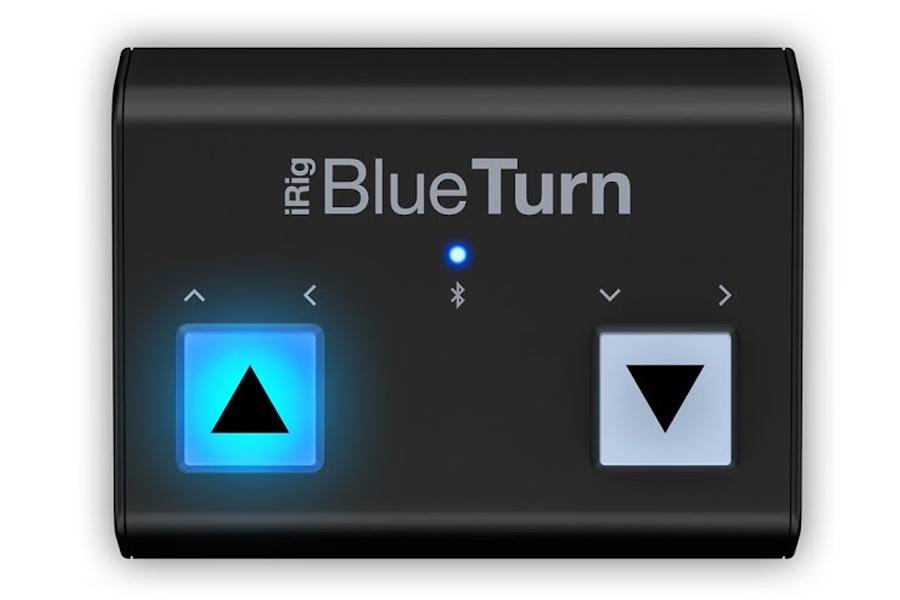 IK MULTIMEDIA アイケーマルチメディア / iRig BlueTurn Bluetooth対応ペダル・ボード【お取り寄せ商品】