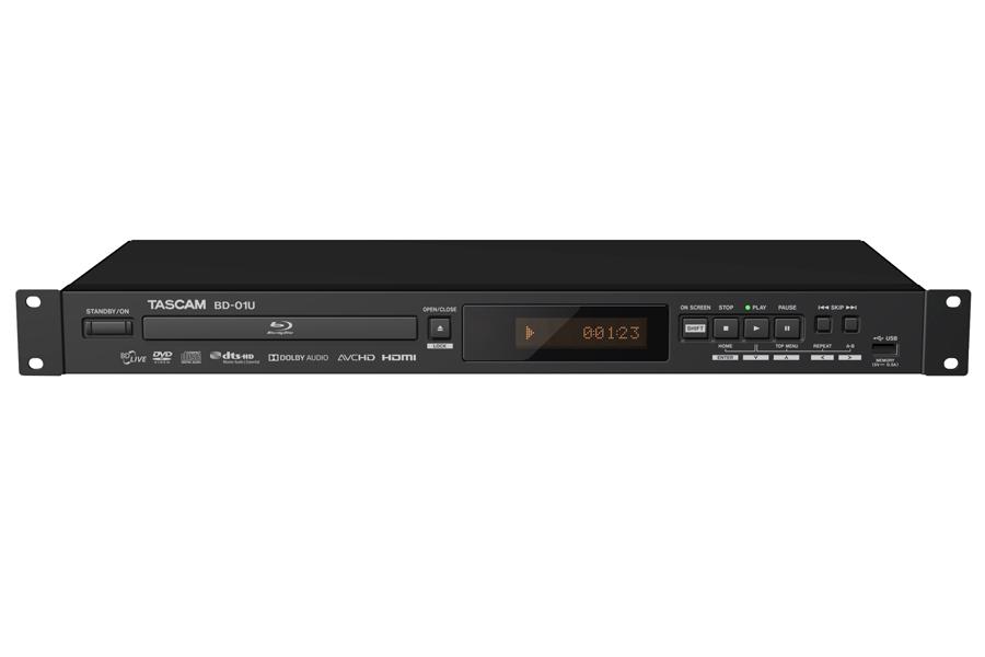 TASCAM タスカム / BD-01U Blu-ray player 業務用ブルーレイプレイヤー【お取り寄せ商品】