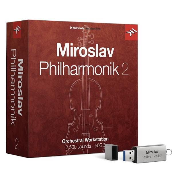 IK MULTIMEDIA アイケーマルチメディア / Miroslav Philharmonik 2 BOX 通常版(USBフラッシュ・ドライブ)
