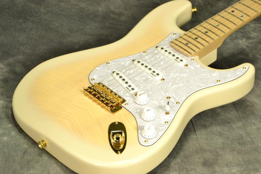 Fender Japan Exclusive Richie Kotzen Stratocaster See-through White Burst【YRK】