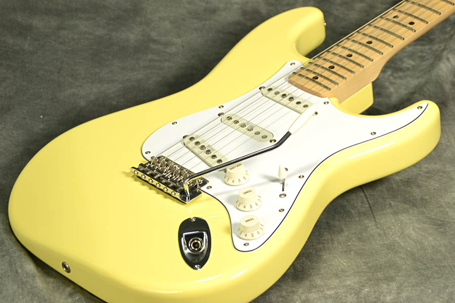 Fender Japan Exclusive Yngwie Malmsteen Signature Stratocaster Yellow White【YRK】