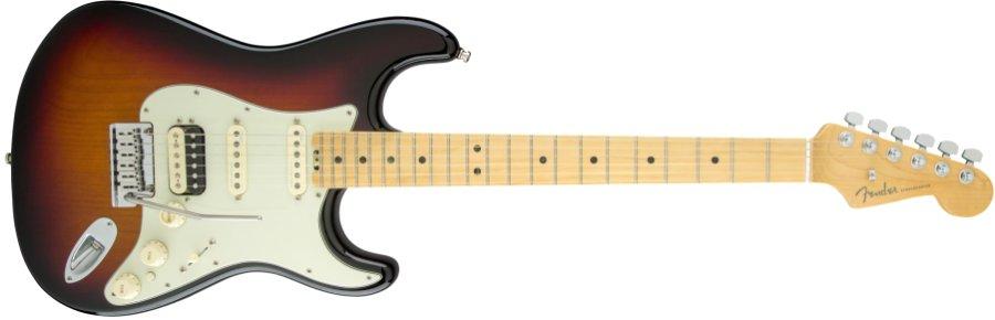 Fender USA フェンダー / American Elite Stratocaster Shawbucker Maple Fingerboard 3-Color Sunburst《カスタムショップのお手入れ用品を進呈/+671038200》《フェンダー純正グッズを進呈/+79083》