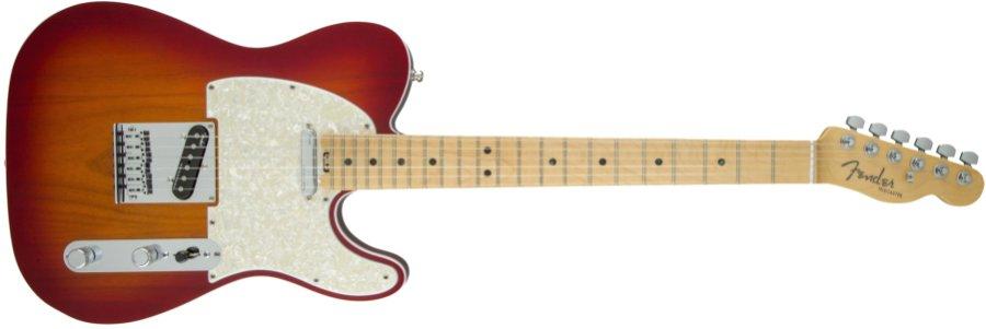 Fender USA フェンダー / American Elite Telecaster Maple Fingerboard Aged Cherry Burst《カスタムショップのお手入れ用品を進呈/+671038200》【YRK】