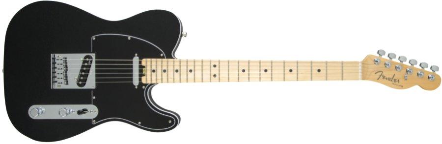 Fender USA フェンダー / American Elite Telecaster Maple Fingerboard Mystic Black《カスタムショップのお手入れ用品を進呈/+671038200》《フェンダー純正グッズを進呈/+79083》