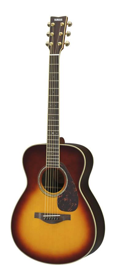 YAMAHA / LS6 ARE BS(ブラウンサンバースト) 【詳細画像あり】【専用ケースつき】 ヤマハ アコースティックギター フォークギター アコギ 入門 初心者 LS-6 LS6ARE 【YRK】《+811182000》