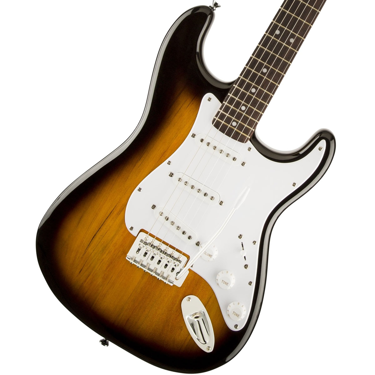 Squier by Fender / Bullet Stratocaster with Tremolo Brown Sunburst スクワイヤー エレキギター【WEBSHOP】