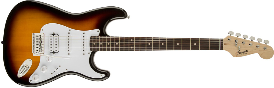 Squier by Fender / Bullet Stratocaster with Tremolo HSS Brown Sunburst スクワイヤー エレキギター【WEBSHOP】