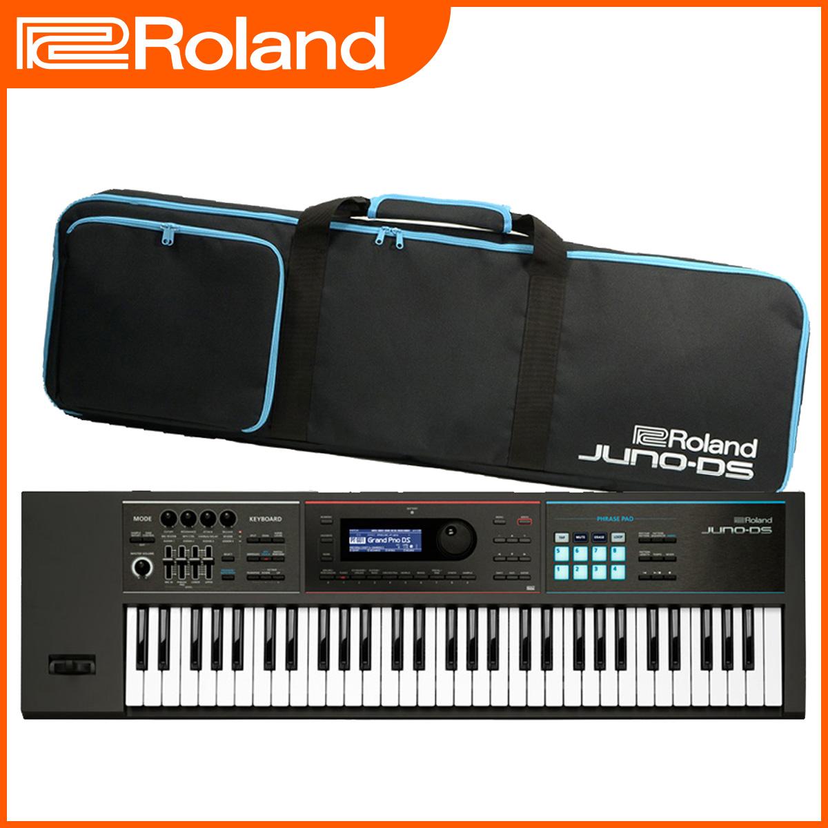 Roland ローランド / JUNO-DS61 シンセサイザー (JUNO-DS)《背負えるケース・特典付き:78610》【YRK】