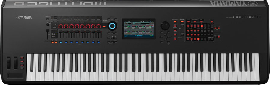 YAMAHA ヤマハ / MONTAGE8 ミュージックシンセサイザー モンタージュ88鍵モデル【YRK】《X型スタンドIQ-2000プレゼント:811066200》