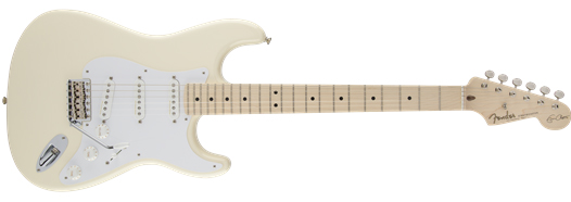 Fender USA / Eric Clapton Signature Stratocaster Olympic White American Artist Series 【お取り寄せ商品】《カスタムショップのお手入れ用品を進呈/+671038200》《フェンダー純正グッズを進呈/+79083》