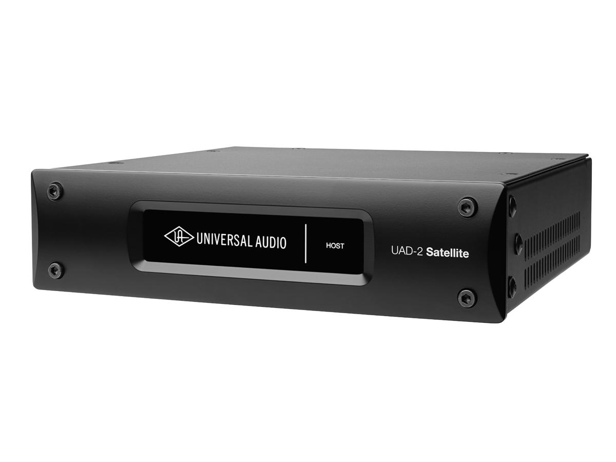 UNIVERSAL AUDIO ユニバーサルオーディオ / UAD-2 SATELLITE USB QUAD CUSTOM DSPプラグインシステム【お取り寄せ商品】